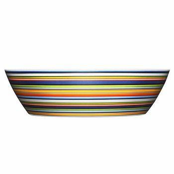 """iittala Origo Orange Margarita Serving Bowl - 10""""D x 2.75""""T"""