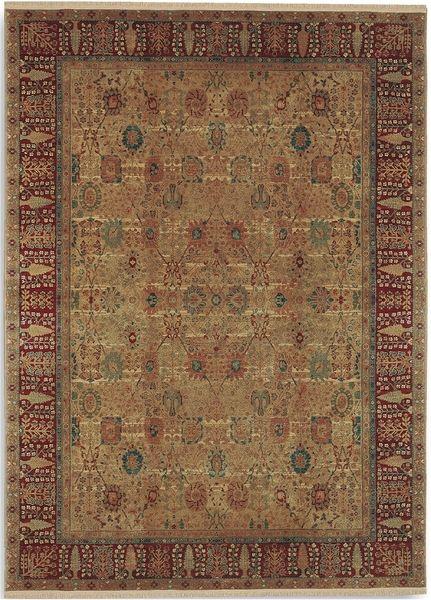 Karastan Samovar 900 901 Persian Vase Area Rug Teawash