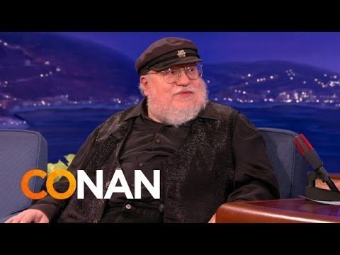 'Game of Thrones' Author George R.R. Martin Reveals That He Writes His Novels Using a DOS Word Processor on 'Conan'