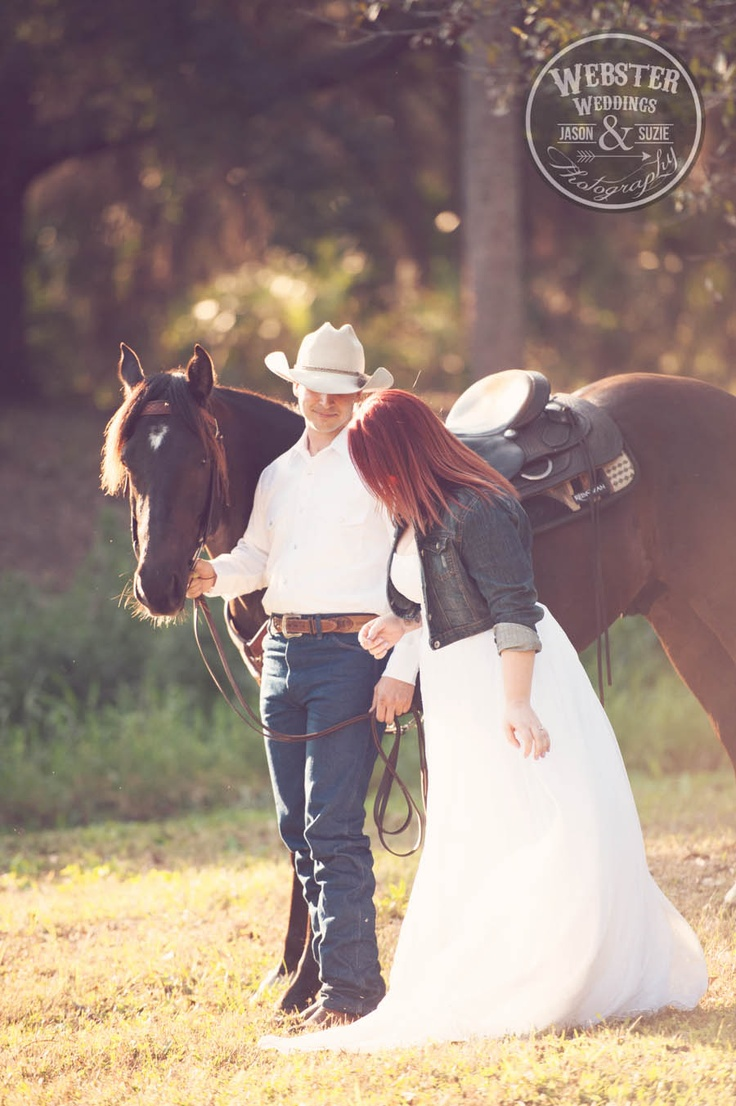 Western Engagement Session Cowboy Engagement Rustic Day