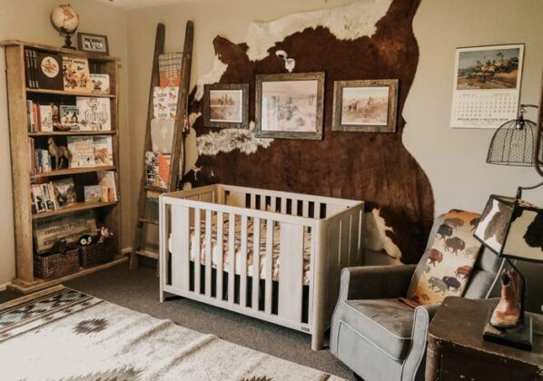 Nursery Themes And Decorating Ideas For Baby Nursery Baby Room Baby Boy Room Nursery Western Nursery