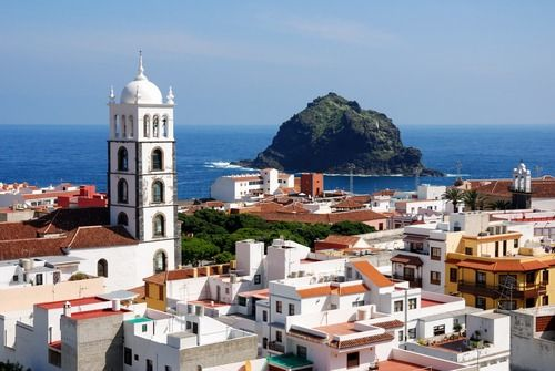 Garachico, en la isla de Tenerife, Santa Cruz de Tenerife.