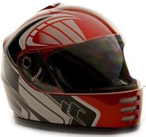 Youth Full Face Helmet Motorcycle Street Bike ATV Motocross Dirt Bike Red, Multiple Sizes -