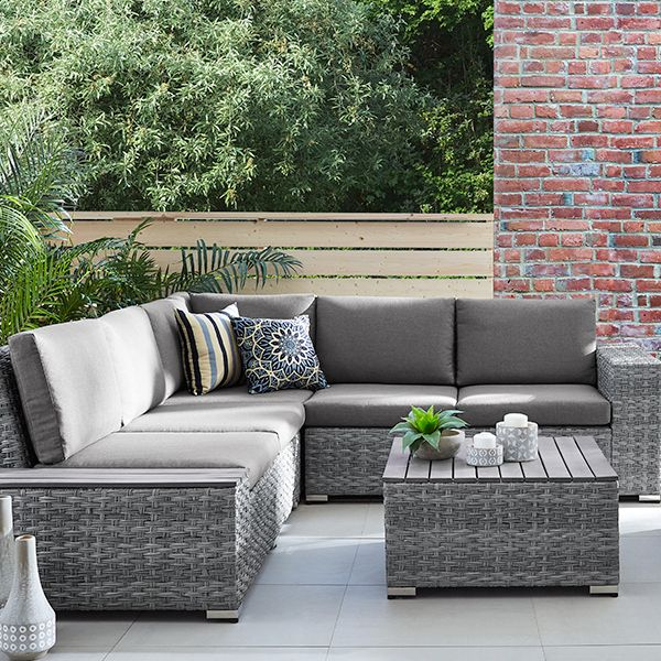 Small Outdoor Sectional