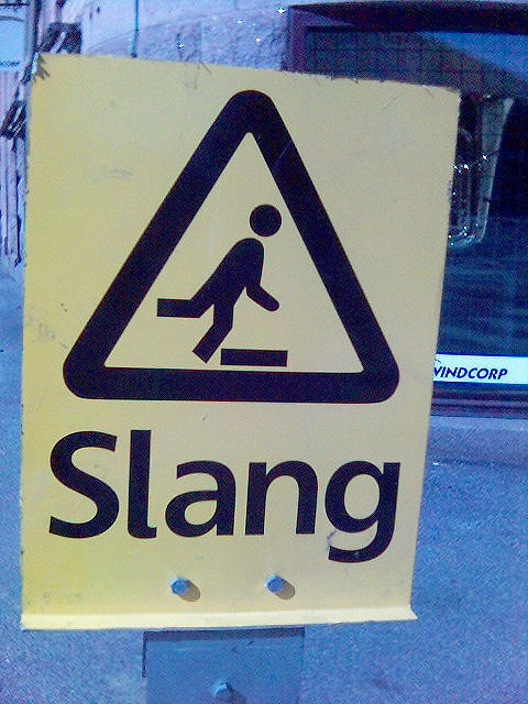 Here you can include slang... Thank you!