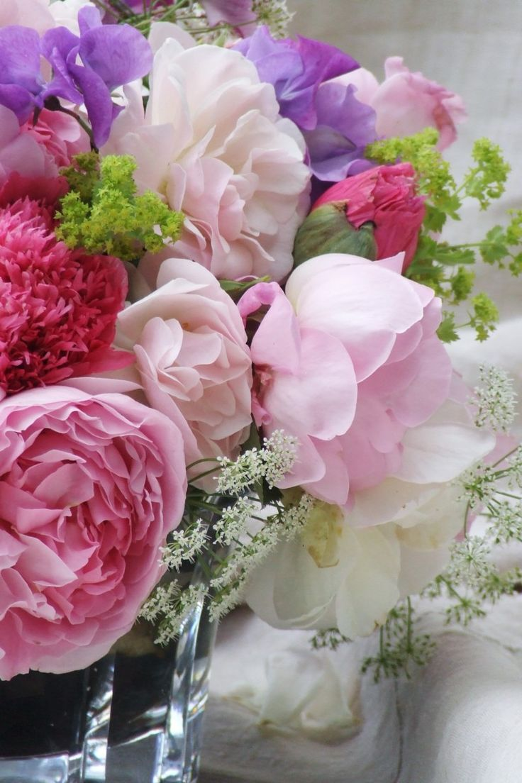 my french country flowers - roses and poppies 1