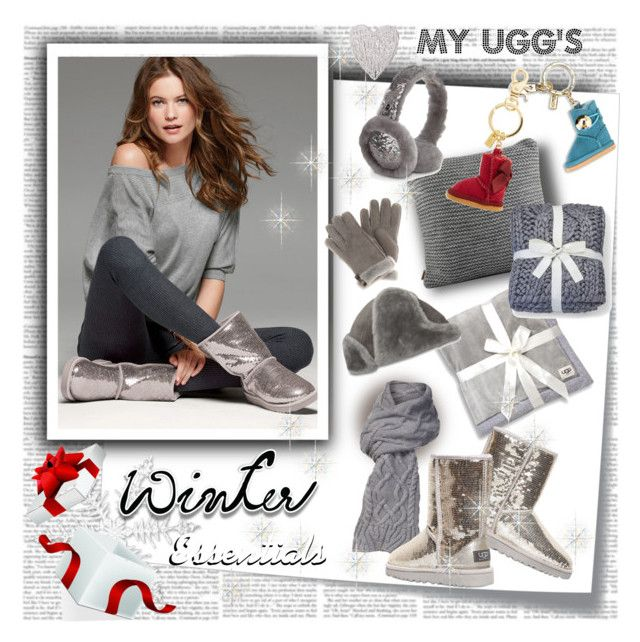 Winter Essentials My UGG's by stylepersonal on Polyvore featuring polyvore, fashion, style, UGG Australia, Post-It, ugg and winteressentials