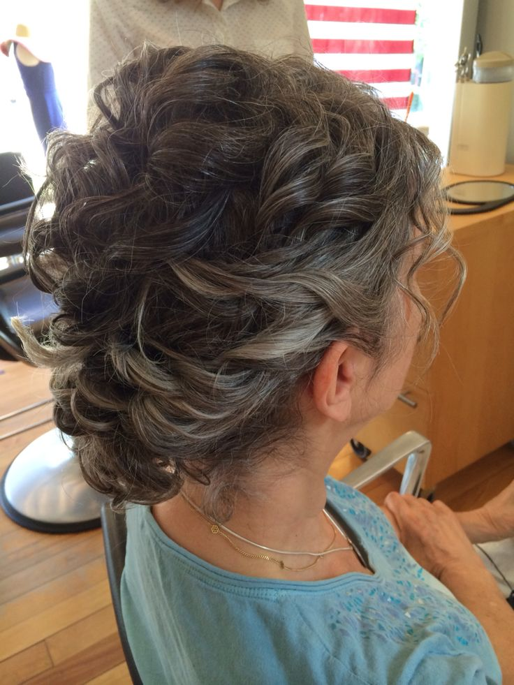 Mother of the bride hairstyle | pretty 'dos. | Pinterest ...