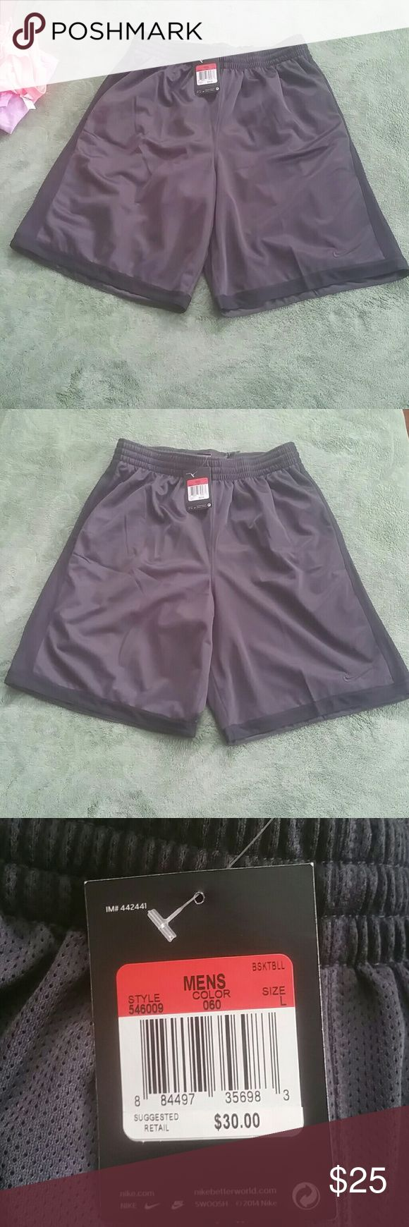Herren, Nike-Shorts, Schwarz NIKE Mesh BASKETBALL-Shorts Nike Shorts Athletic   – My Posh Closet