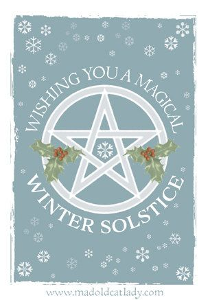43 best winter solstice images on pinterest natal winter breaks winter solstice greetings card by madoldcatlady on etsy m4hsunfo