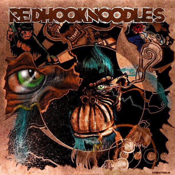 RedHookNoodles album cover. Music, hiphop and beats. The Beatsummoner;)