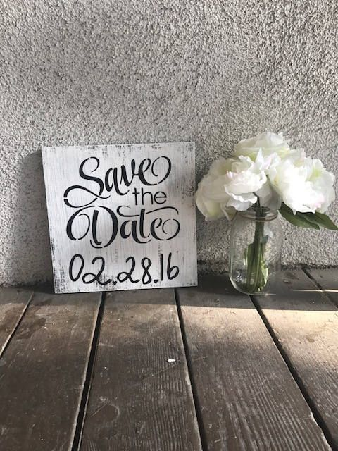 Save the Date - Rustic Sign - Engagement Photos Sign - Save the Date Sign - Future Mr and Mrs - Engagement Photos Prop -Wood Sign by mamanco on Etsy https://www.etsy.com/listing/533781531/save-the-date-rustic-sign-engagement