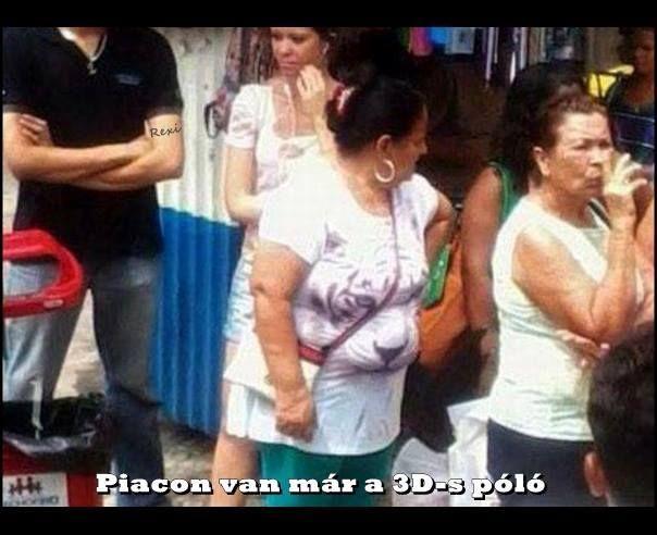 Piacon már a 3D-s poló :)