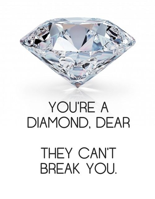 Diamond Women Empowerment Quotes