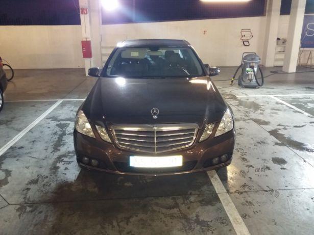 Mercedes E200 cdi 7g tronic 2011 preços usados
