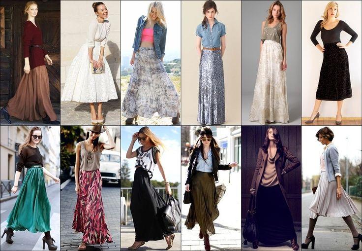 All those skirts...*faints* lol