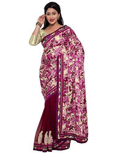 Indian Women violet color satin georgette saree INDIAN WOMEN http://www.amazon.in/dp/B01NAM3E66/ref=cm_sw_r_pi_dp_x_Fz4Byb1Y0VR70