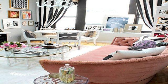 White Eclectic Interior Design
