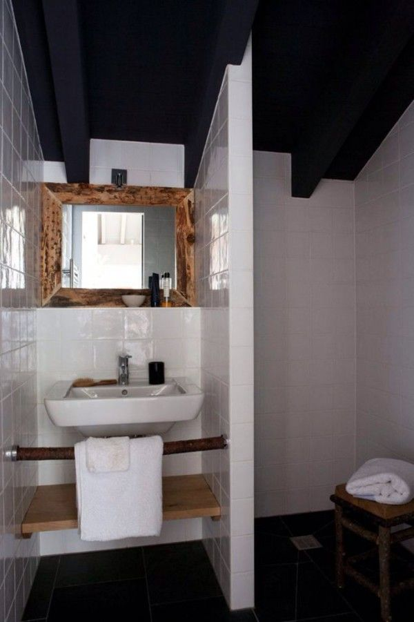 25 best ideas about salle de bain blanche on pinterest for Salle bain blanche