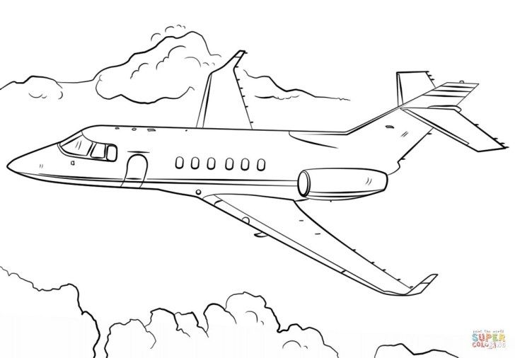 27 Best Image Of Jet Coloring Pages Airplane Coloring Pages