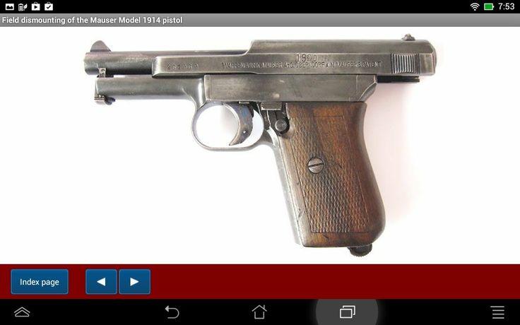 Mauser pistol model 1914 explained - Android APP - HLebooks.com