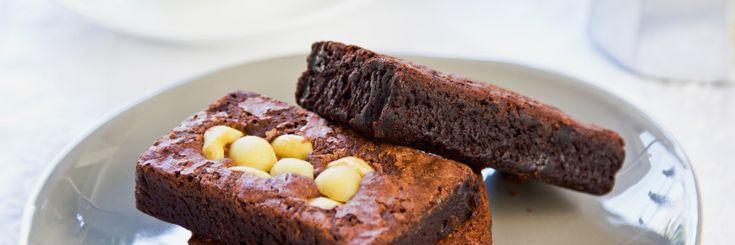 The Healthy Energy - Lupin Macadamia Chocolate Brownie