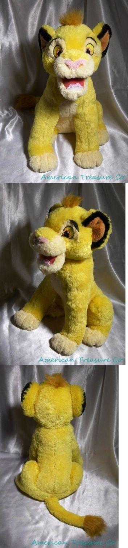 Lion King 44037: 2011 Disney Lion King Plush 14 Talking Roaring Young Simba Lion Cub W Sewn Eyes -> BUY IT NOW ONLY: $34.99 on eBay!