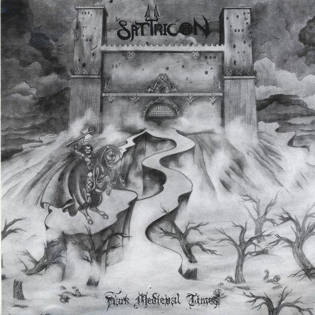 "Satyricon, ""Dark Medieval Times""   #metal"