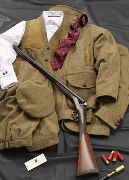 Country Gent huntsman: Idea, England, Hunting Tweed, Gents