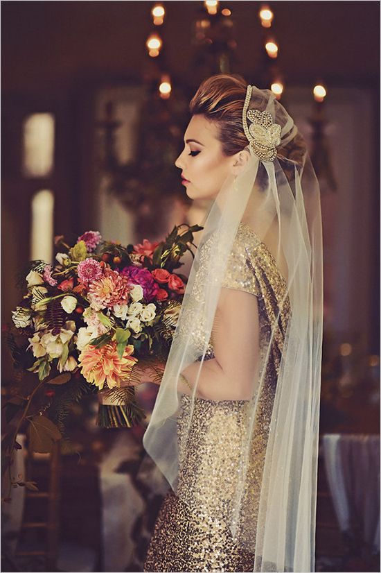 Gold glam wedding inspiration. Captured By: Tamiz Photography #weddingchicks http://www.weddingchicks.com/2014/10/09/gold-glam-wedding-inspiration/