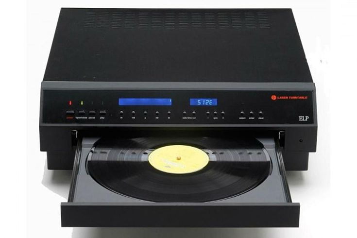 ELP sells the world's only commercially-available laser turntable, which forgoes the needle in favor of five precisely-focused lasers.