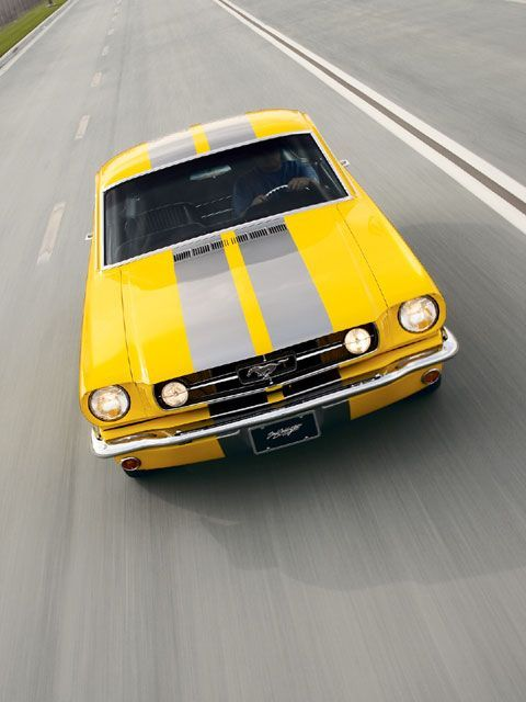 A Ford Mustang from 1965...