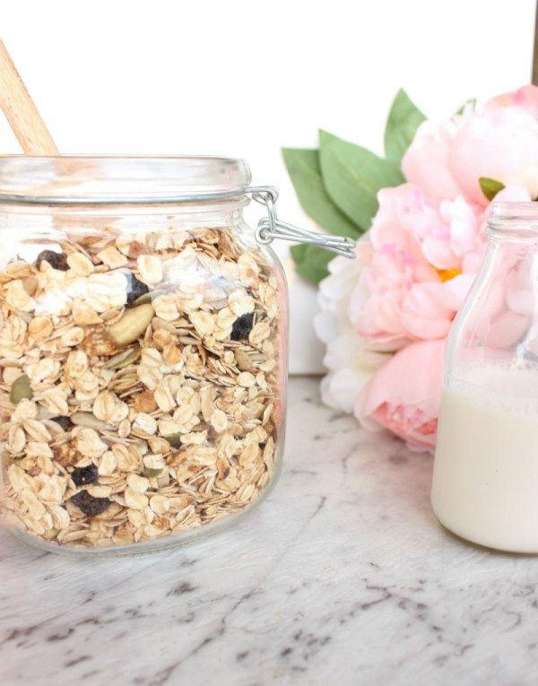 Mum's toasted muesli | Refined sugar free, healthy! (oil free)