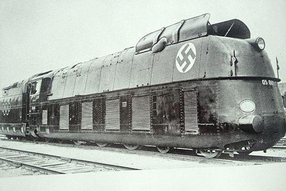 De treinen waarmee Shmuel en Bruno naar Auschwitz rijden ...
