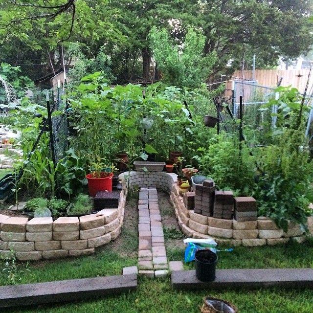 Keyhole Garden Design Extraordinary Keyhole Garden Design Home ...