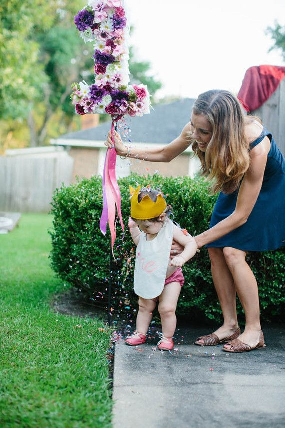 Floral 1st Birthday for Little Girl - First birthday ideas
