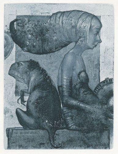 Ex-libris-ABANDONED-by-K-Antioukhin-Surrealism-Signed-Limited-Original-Etching