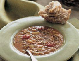 Tuscan Farro and White Bean Soup