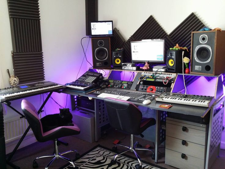 Home recording studio tumblr synth setups pinterest studio music studios and desk setup - Home studio ...