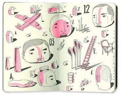 Bryce WymerSketchbooks Illustration, Art, Http Brycewymer Blogspot Fr, Wymer Process, Journals Sketchbooks, Carnet Sketchbooks, Process Blog, Bryce Wymer, Drawing