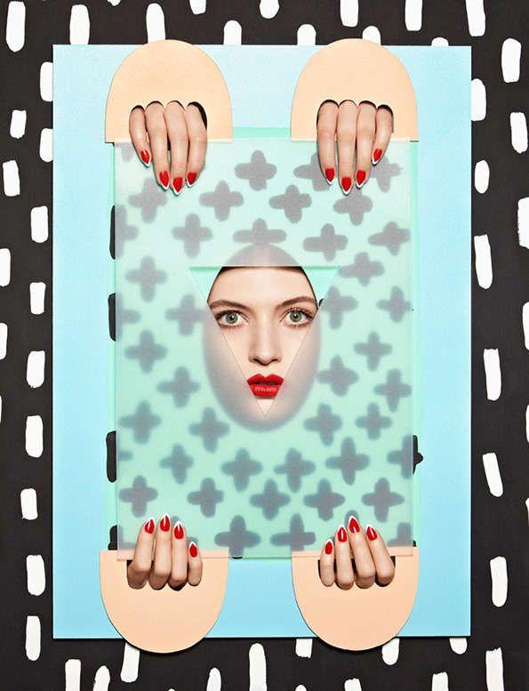 Eccentric Set Designs - Anna Lomax Creates Vibrantly Quirky Still Life-Like Portraits (GALLERY)