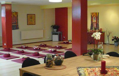 Vajra Vidya Meditationszentrum für tibetischen Buddhismus in Soest, Niederlande …
