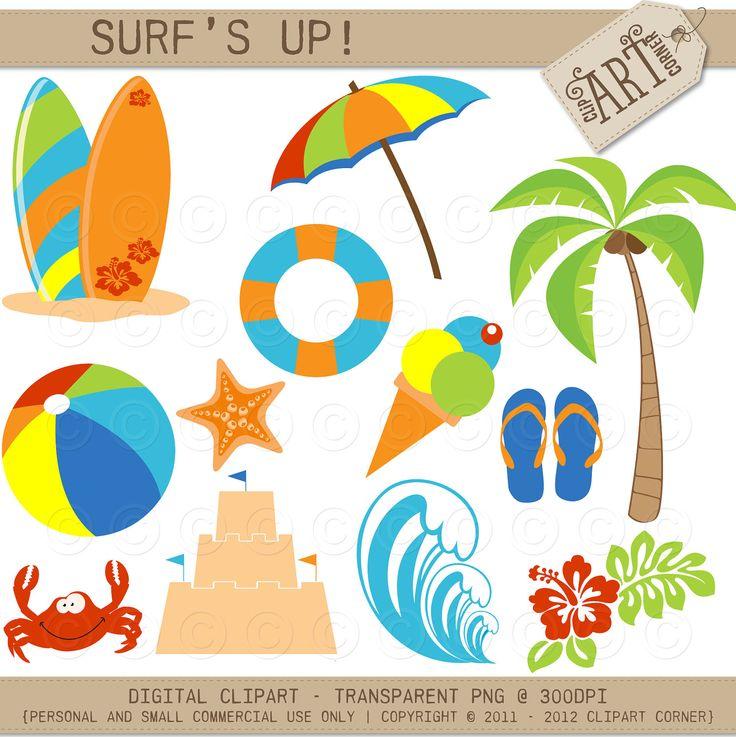 beach umbrella clipart - Google Search