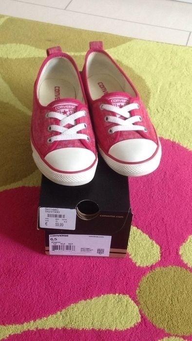 Mein Pinke converse Ballerina von Converse! Größe 37 für 33,00 €. Sieh´s dir an: http://www.kleiderkreisel.de/damenschuhe/ballerinas/134297684-pinke-converse-ballerina.