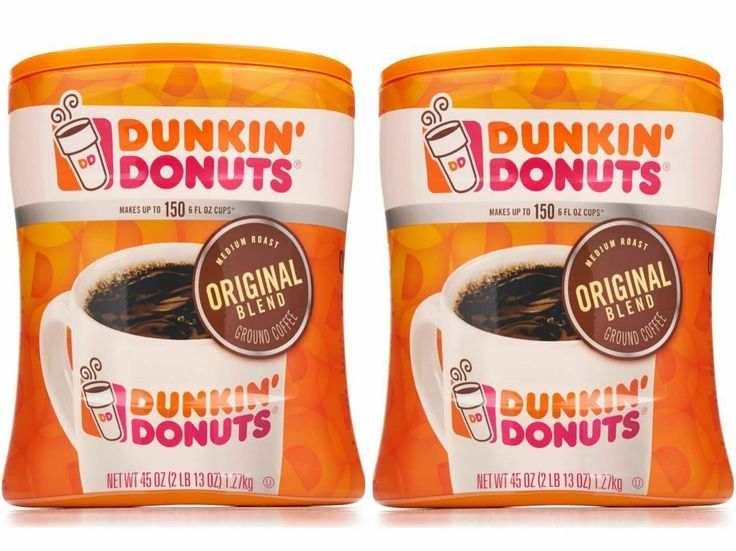 dunkin donuts ground coffee flavors