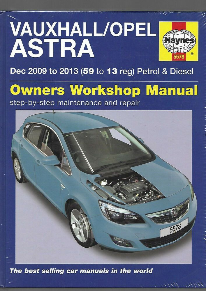 New Sealed Haynes Vauxhall Opel Astra Hatch Sports Tourer Estate Petrol Diesel Vauxhall Opel Vauxhall Insignia