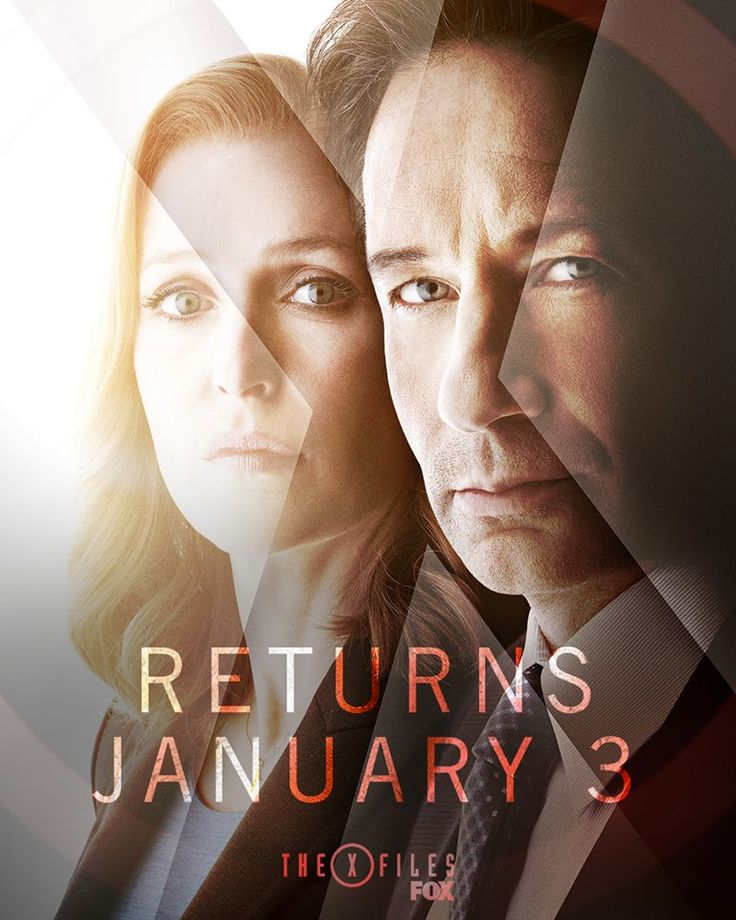 The truth is closer than ever.  The X-Files returns January 3 on FOX. — with Gillian Anderson, David Duchovny and FOX.