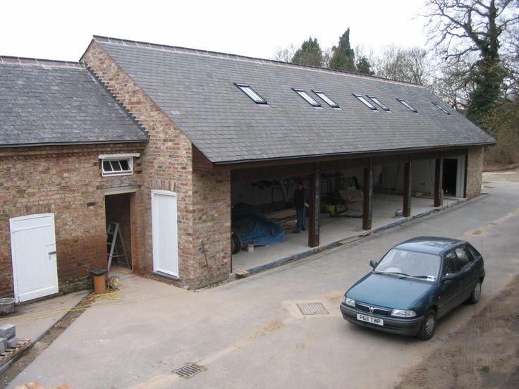 Converted brick stables garage stables garages for Brick garages prices