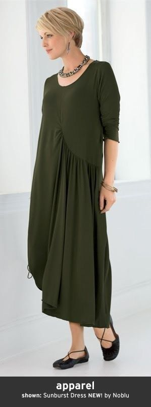 36 Causal Cotton Dress for Women style
