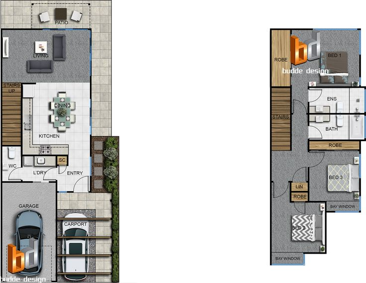 top townhouse floor plans. colour floor plan 3 bedroom 2 level townhouse  unit house part of a 29 development Ormeau Oaks Hills QLD 55 best Sims Freeplay images on Pinterest Home plans Beauty